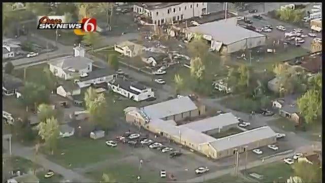 WEB EXTRA: Video From Osage SkyNews 6 Of Quapaw Tornado Damage