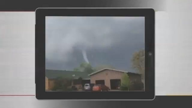 WEB EXTRA: Baxter Springs, Kansas Tornado Video