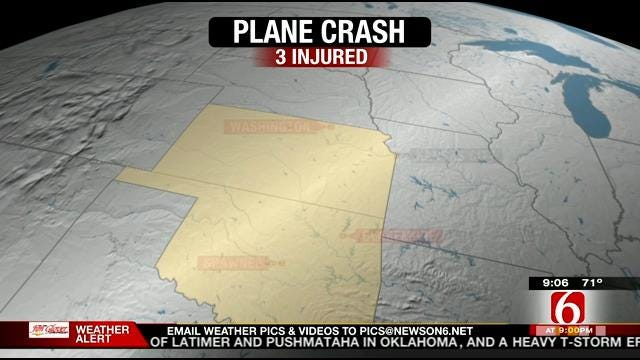 3 Hurt When Small Plane Crashes In Nowata County