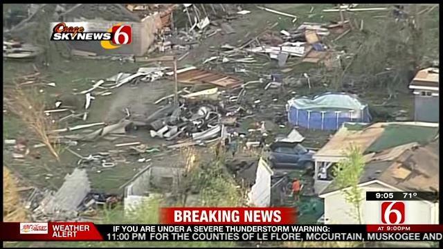 Osage SkyNews 6 Tours Quapaw, Baxter Springs Tornado Damage
