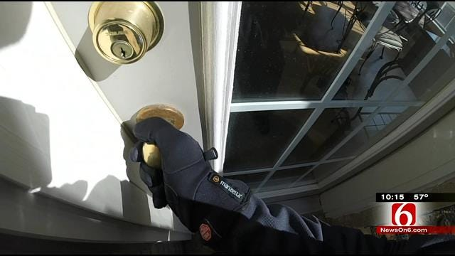 Records Show Trends And 'Hot Spots' For Tulsa Burglars