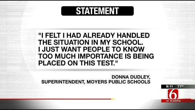 Moyers Students Exempt From State Testing After Parents Die