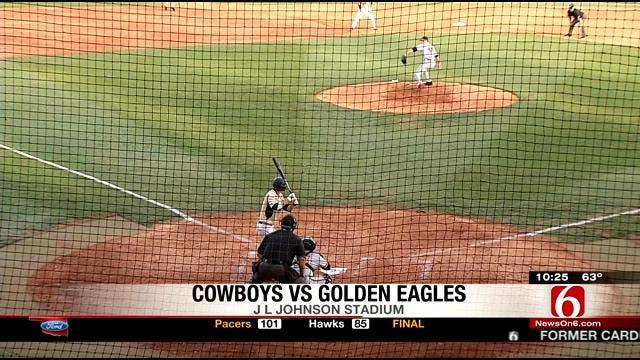 Golden Eagles Stroll Past Cowboys