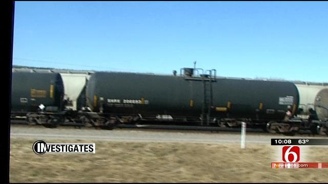 Shipments Of Hazardous Material On Rails Up 440 Percent