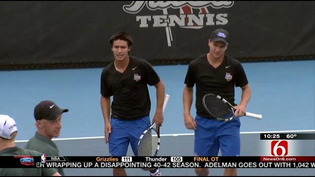 Tulsa Wins C-USA Tennis Title