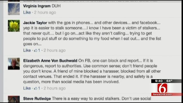 OK Talk: Does Social Media Make It Too Easy To Stalk Or Harass Someone?