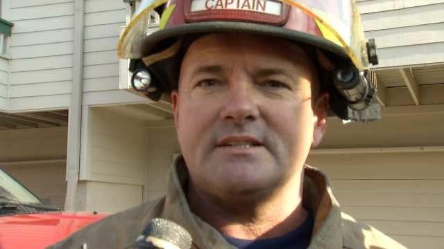 WEB EXTRA: Tulsa Fire Captain Jerry Sidadon Talks About Fire