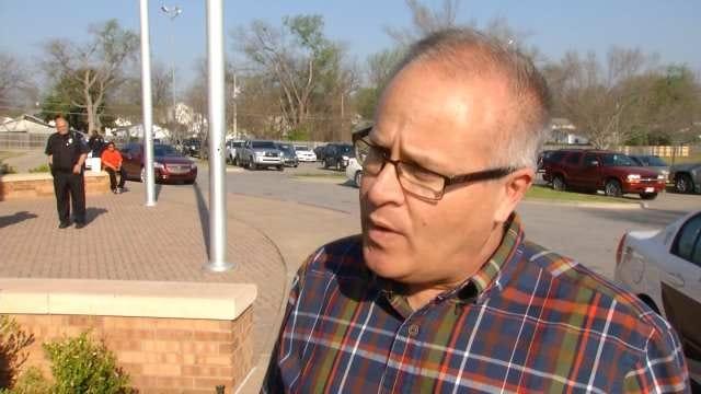 WEB EXTRA: Tulsa Public Schools Spokesman Chris Payne Talks About The Threat