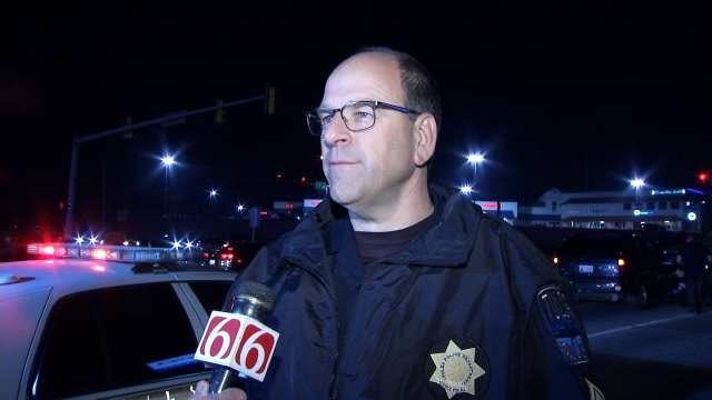 WEB EXTRA: Tulsa Police Sgt. Mike Fitzgerald Talks About Chase