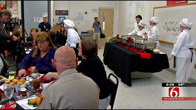 Four Tulsa County Female Inmates Graduate From In2Work Program