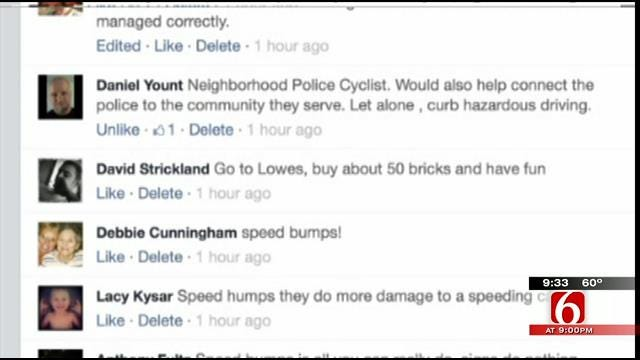 OK Talk: What's The Best Way To Stop Drivers From Speeding Through Neighborhoods?