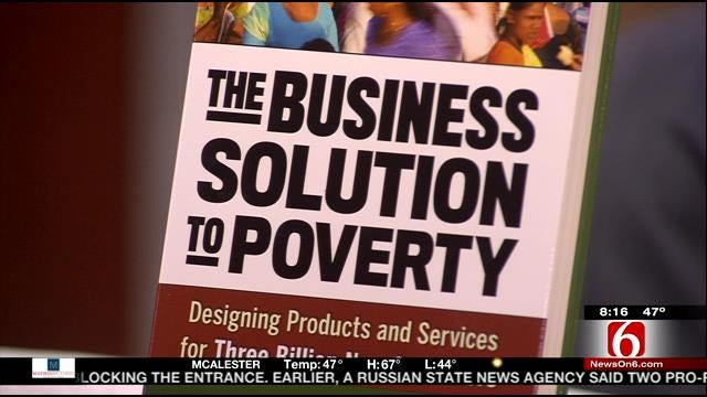 TU Professor's Campaign To Help People Out Of Poverty