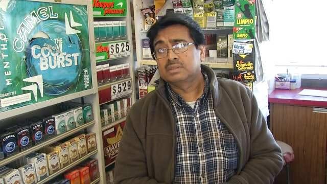 WEB EXTRA: East Tulsa Store Clerk On Shooting