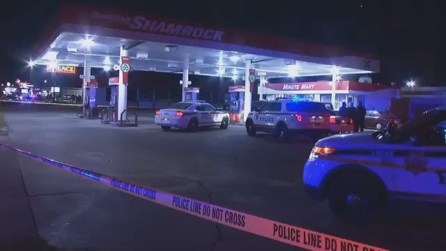 WEB EXTRA: Video From Scene Of Shooting At East Tulsa Convenience Store