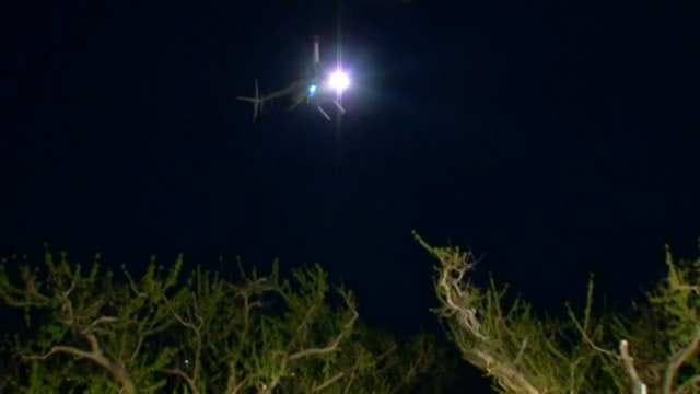 WEB EXTRA: Video Of Helicopters Over Livesay Peach Orchards Near Porter