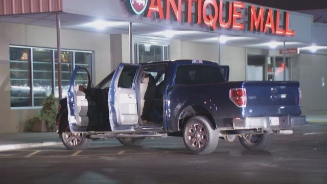 WEB EXTRA: Video From Scene Of Recovery Of Stolen Pickup Truck