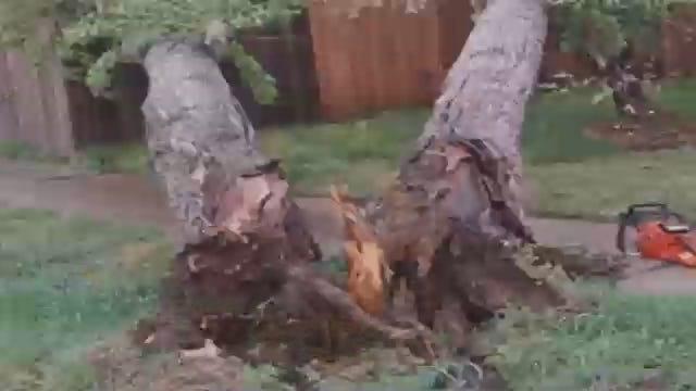 WEB EXTRA: Wind Damage In Caney, Kansas