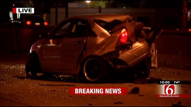 Crash Closes Down Portion Of Broken Arrow Expressway