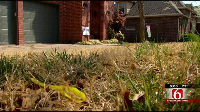Jenks Woman Upset After Teens Wrap Yard In Crime Scene Tape