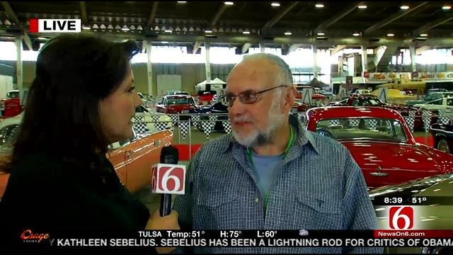 LeAnne Taylor Interviews Her Dad At Tulsa Auto Show