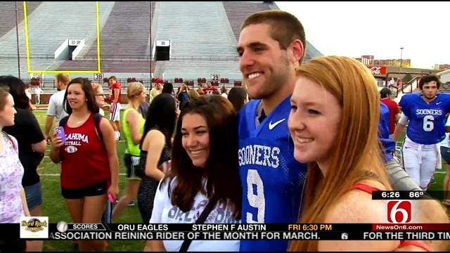 OU Football Hosts Student Day