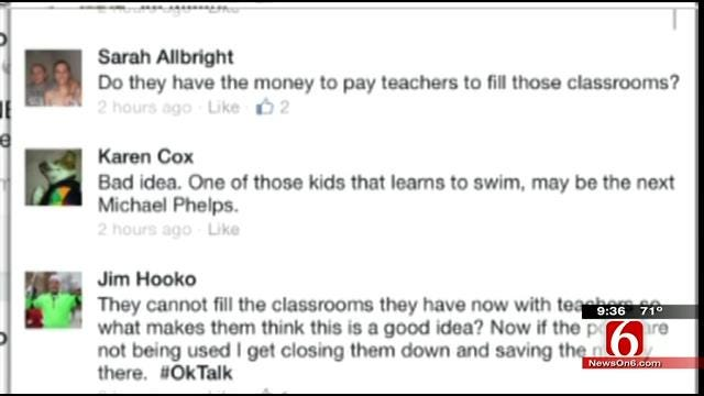 OK Talk: How Important Is It To Have A Swimming Pool At School?