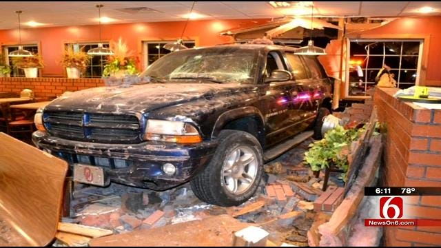 Coweta Restaurant Reopens Dining Area After SUV Drove Through