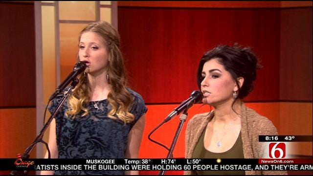 Alaska Holloway And Madi Metcalf Perform On 6 In The Morning