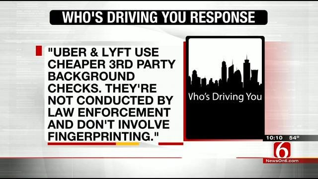 Some Oklahomans Concerned With Safety Of 'Tech Taxi' Companies