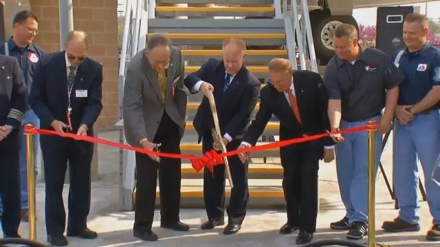 WEB EXTRA: Video From Ribbon Cutting Ceremony At Tulsa Air And Space Museum