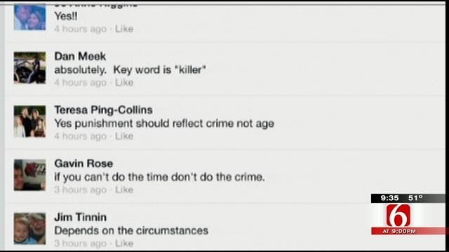 OK Talk: Should A 14-Year-Old Murderer Be Punished As An Adult?