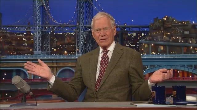 WEB EXTRA: David Letterman's Retirement Announcement [CBS]