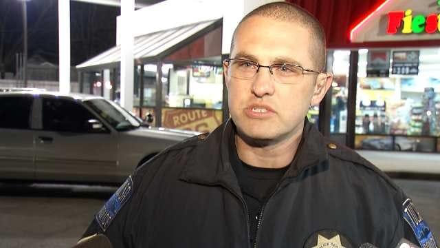 WEB EXTRA: Tulsa Police Cpl. Jarrod Hart Talks About Theft Of Beer, Arrest