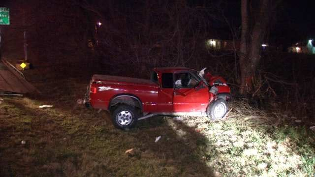 WEB EXTRA: Video From Scene Of Crash On I-44
