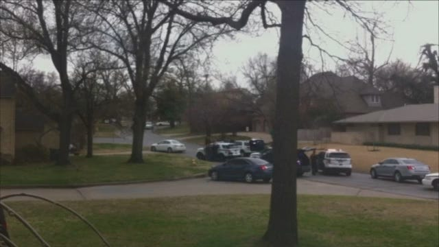 WEB EXTRA: Video Taken Near The Midtown Tulsa Shooting