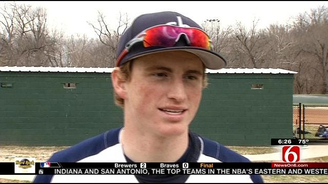 Cascia Hall Catcher Eyes The Big Leagues