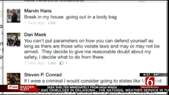 OK Talk: Do You Support Oklahoma's Stand Your Ground Law?
