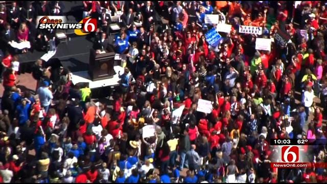 Sand Springs High Schoolers Say Rally Was 'Empowering'