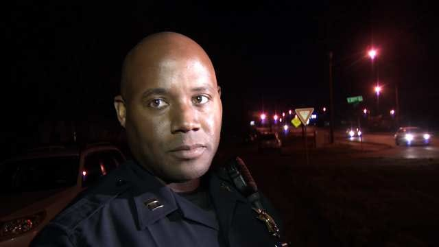 WEB EXTRA: Tulsa Police Captain Wendell Franklin Talks About The Robberies