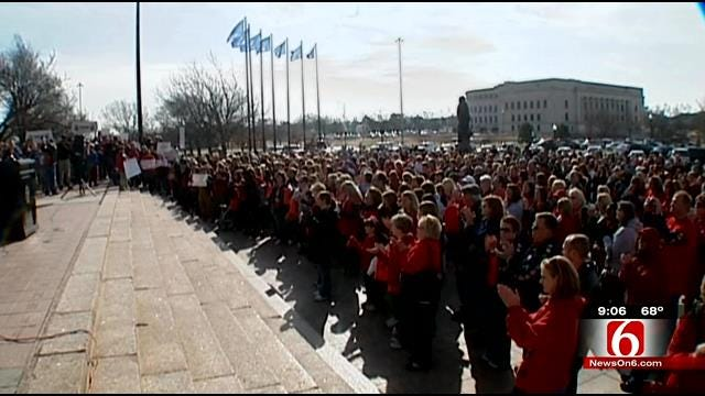Legislators Set To Welcome Thousands Of Teachers To Oklahoma Capitol