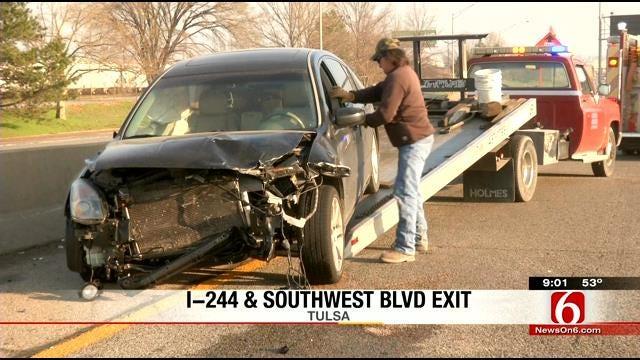 Street Racing May Have Caused Two-Vehicle Tulsa Crash