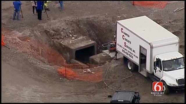 Osage SkyNews 6: Construction Worker Rescued From Hole At Rogers County Courthouse
