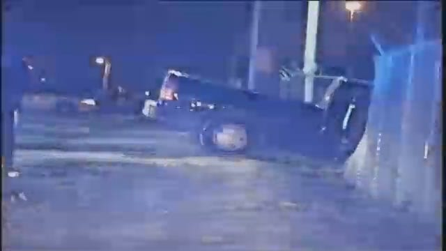 WEB EXTRA: Video From Scene At End Of High-Speed Chase In West Tulsa