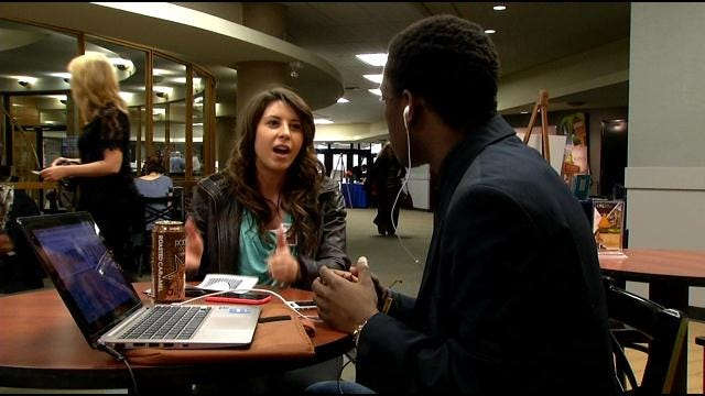 ORU Students Use Guerilla Marketing To Raise Awareness For Good Cause