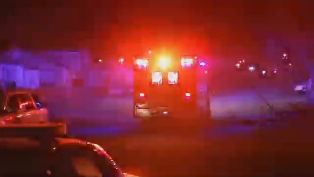 WEB EXTRA: Video From Scene Of Where Police Said A Tulsa Homeowner Was Shot