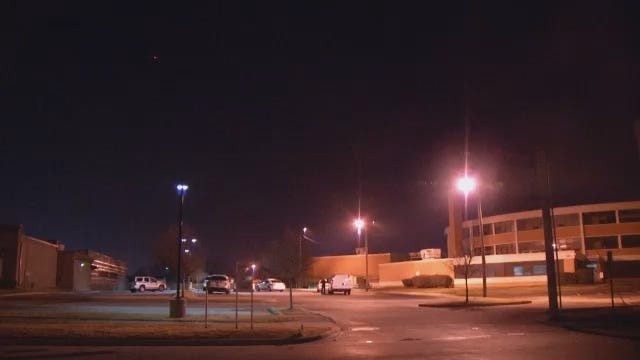 WEB EXTRA: Video From Outside Tulsa's Wright Elementary School