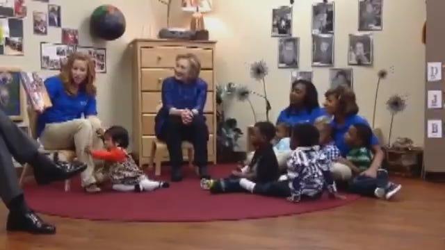 WEB EXTRA: Hilary Clinton At Tulsa Educare