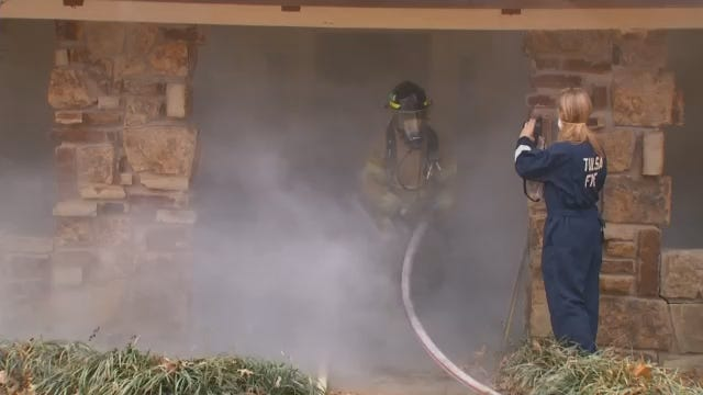 Tulsa Fire Cadets Put Classroom Training To The Test