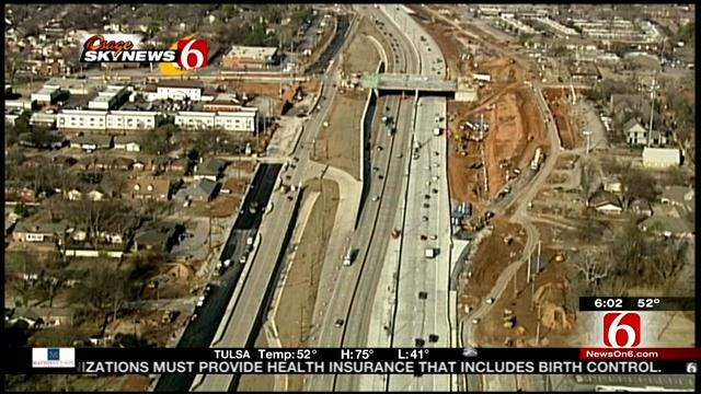 Traffic Switch In Store For Widened I-44 In Tulsa