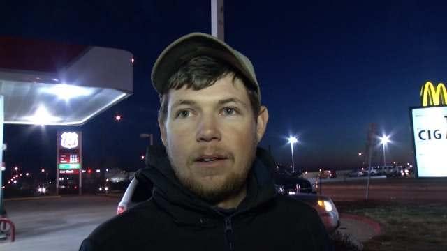 WEB EXTRA: Eyewitness Brandon Wells Talks About Crash